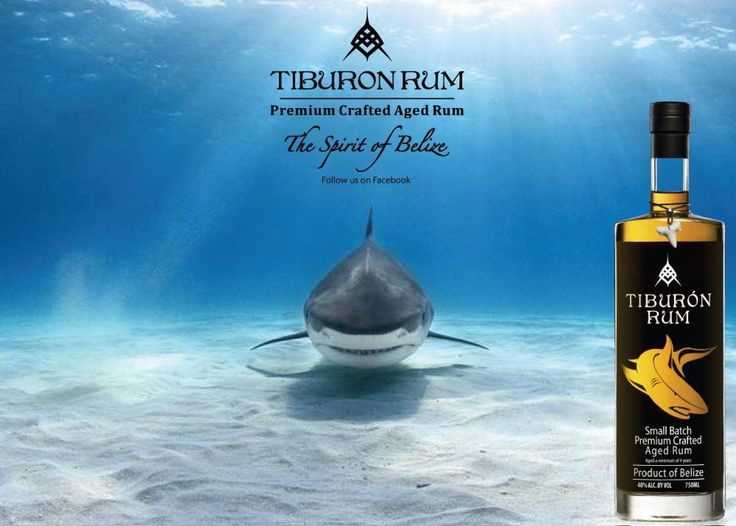 Shark weeks coming don't forget your Tiburon Rum