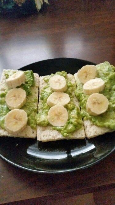 Avocado & banana& honey