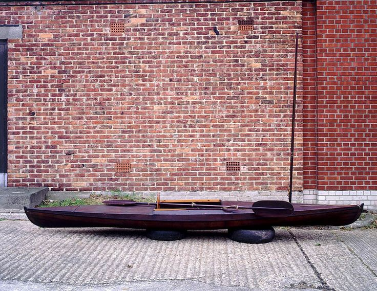 One of John McGregor's Rob Roy canoes.