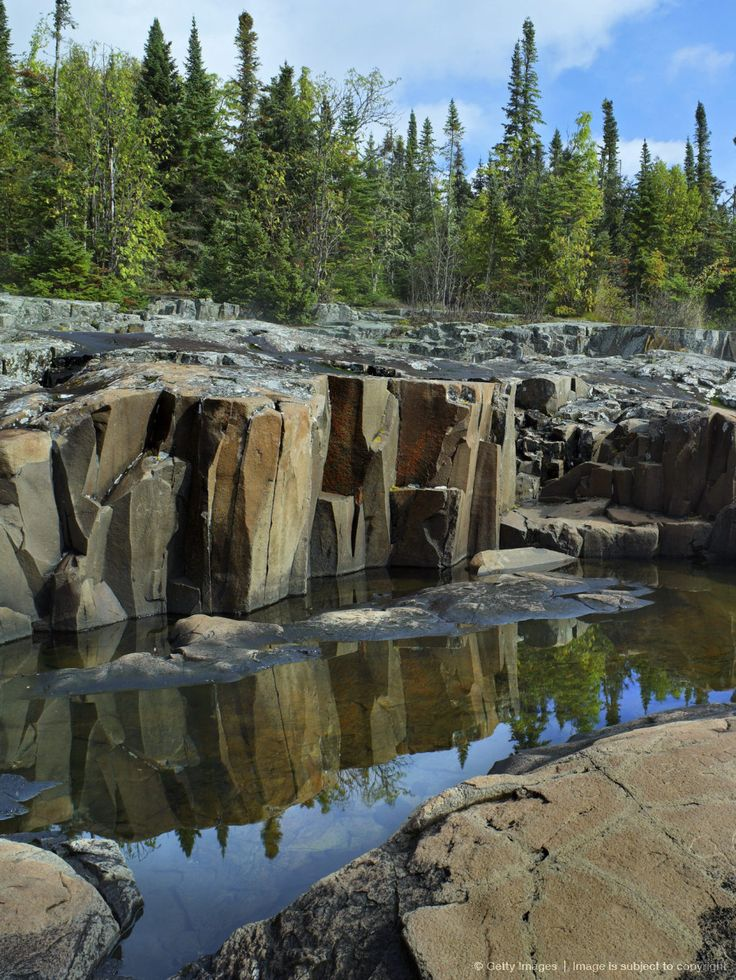 Artists Point, Lake Superior, Grand Marais, Cook County, Minnesota.