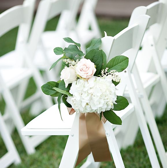 Flower Aisle Wedding: Pink And White Shabby Chic Wedding Santa Rosa Beach FL