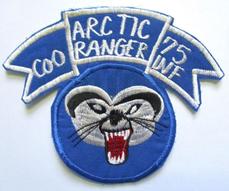 Patch - ARCTIC RANGER - 75 INF Co O