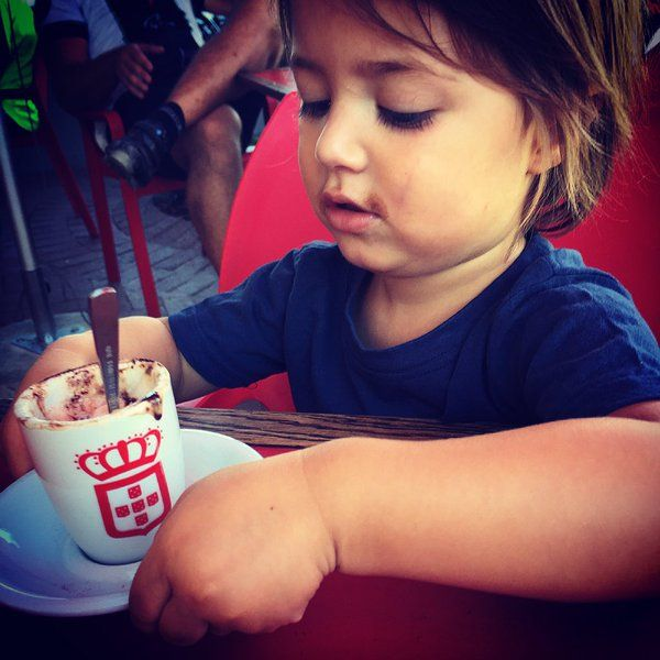 vida e caffé is for the whole family #babychino
