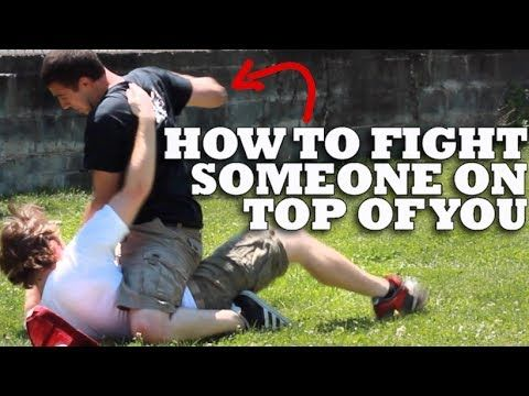 How To Fight Someone On Top of You - Ground Fighting