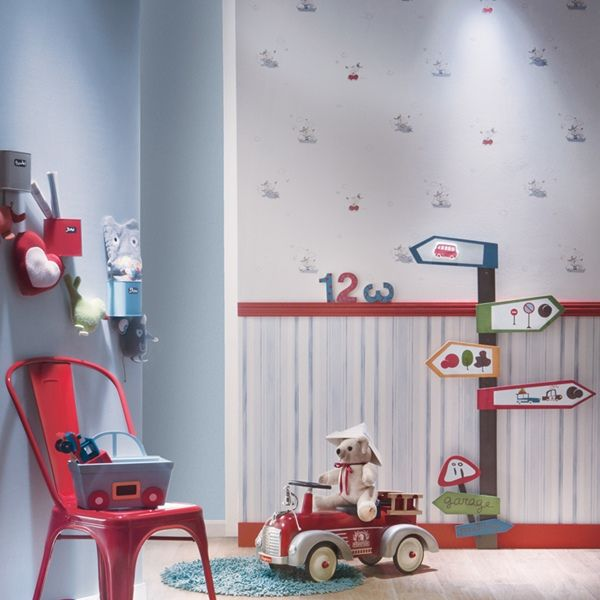 Mejores 10 im genes de papel pintado bebes en pinterest - Decoracion infantil barcelona ...