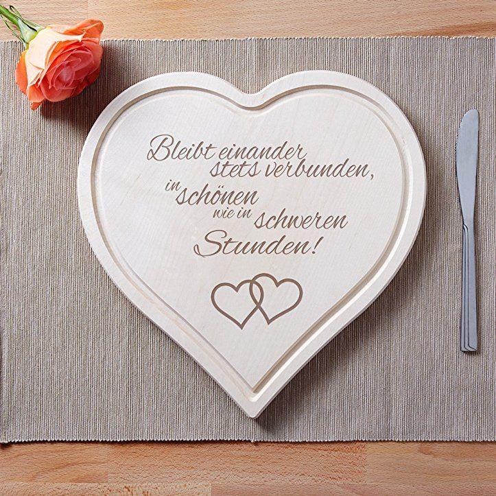 Schneidebrett Herz Holzbrett Mit Gravur Zur Hochzeit Bleibt Einander Standard Motiv H Hochzeitsgeschenke Ideen Geschenkideen Hochzeit Hochzeitsgeschenk