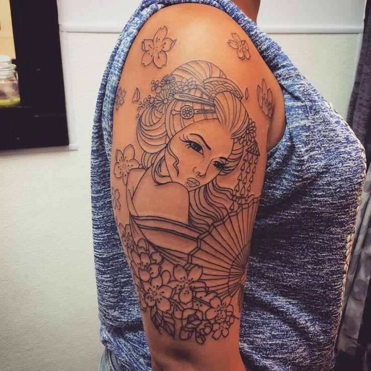Tattoo Designs Japanese: Best 25+ Geisha Tattoos Ideas On Pinterest