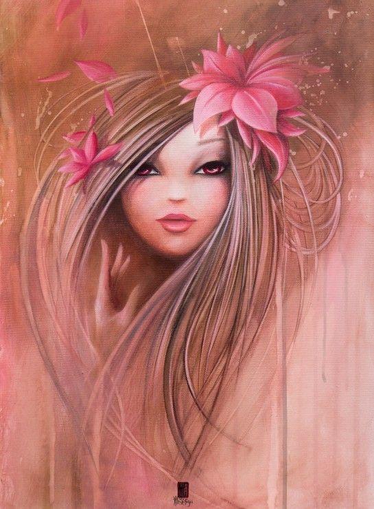 Misstigri : Sweet Pinky Girl - 2000 Teile - GRAFIKA Puzzle acheter en ligne
