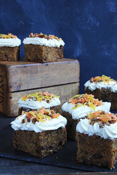 Golden Beetroot and Carrot Cake with Cream Cheese Icing