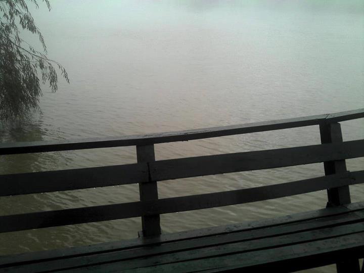 Reinaldo Fiocca: aunque no lo crean linda gente ,eran las diez de la mañana, sobre rio Sarmiento.