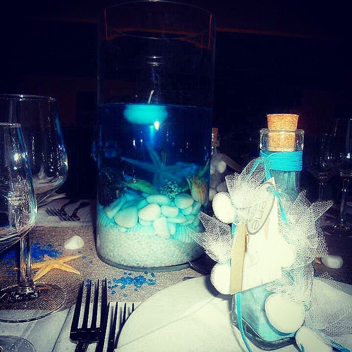 Sea themed wedding