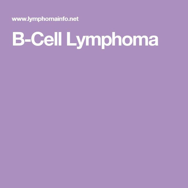 B-Cell Lymphoma