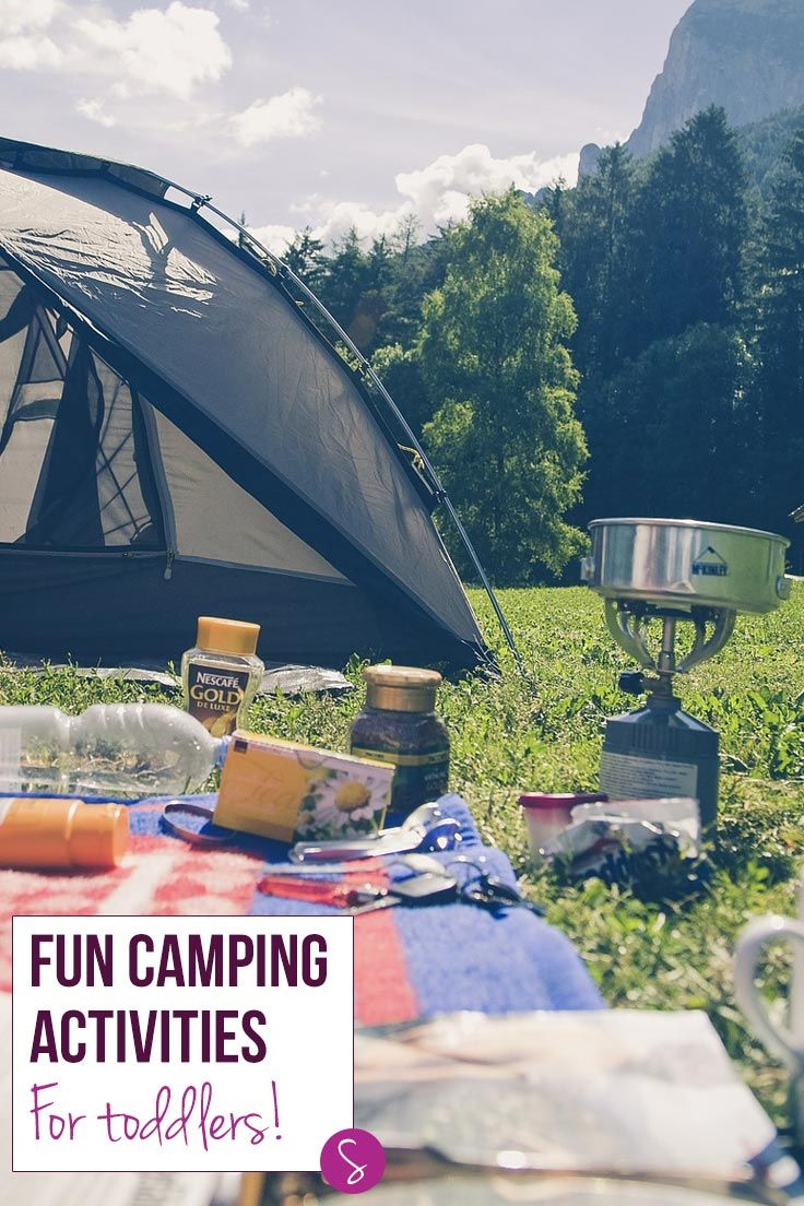 Summer is here which means it's time to pack up the tent and head out to the Great Outdoors for some much needed family time and relaxation. If this is your first trip with a small person you will need some <strong>fun camping activities for toddlers</strong> to keep them entertained and to help them make the most of the trip. We've got some pretend play ideas for you to do at home, to help them understand what camping actually is, and then some toddler friendly activities to do both during…