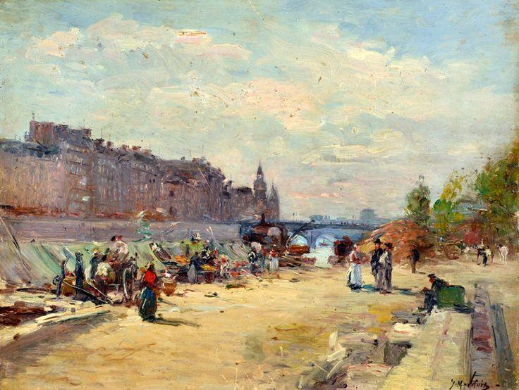 Berges de la Seine Gustave Madelain (1867-1944)