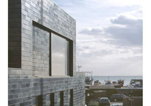 The Jerwood Gallery by HAT Projects. Beautiful dark brick.