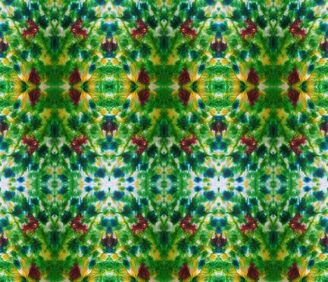 Northern Lights horizon fabric by colour_angel on Spoonflower - custom fabric