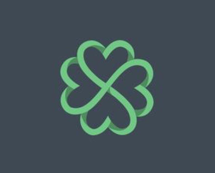 Four leaf clover design - tattoo inspo