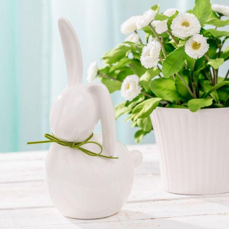 Ester Bunny #dekoria #ester #bunny #figure #decoration #homedecor #inspirations #ester #wielkanoc #krolik #zajac #ceramic