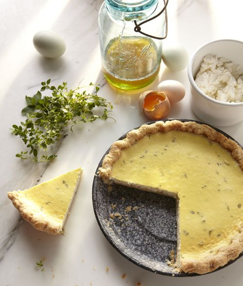 Farmer Cheese with Thyme Pie Cheese Pies, Pies Recipe, Chee Pies, Pies ...
