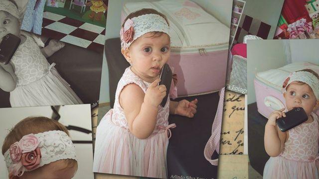 Vídeo de 30 segundo com algumas fotos do aniversário da Giovanna - 1 aninho