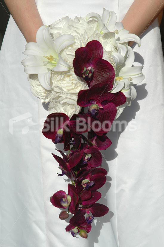 silk orchid wedding bouquets 25 purple orchid bouquet ideas on orchid 7411