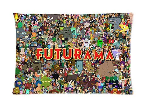 Futurama Character Art Pillow case Two Sides Pattern Printed Custom Queen Size 20*30 Zippered PillowCase Pillowcases 20*30 http://www.amazon.ca/dp/B00N2K78CS/ref=cm_sw_r_pi_dp_Nu1cvb0X06QXN