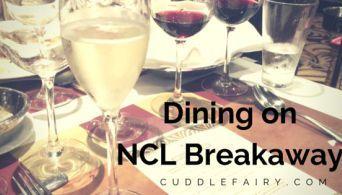 Cruise Norwegian Breakaway • Cuddle Fairy