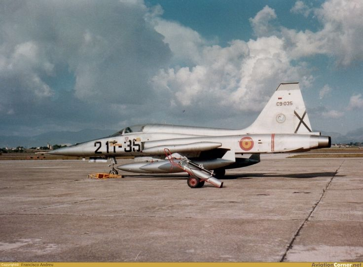 Northrop (CASA) SF-5A - Ejército del Aire (Spanish Air Force), Spain