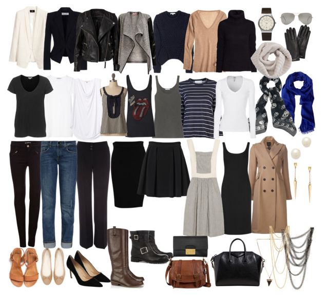 Minimalist capsule wardrobe inspired by Parisian street fashion - SaveSpendSplurge #streetstyle