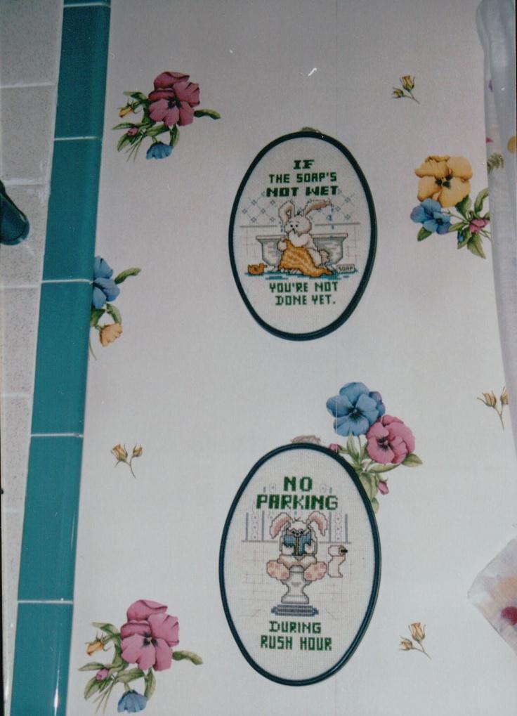 Bathroom sayings