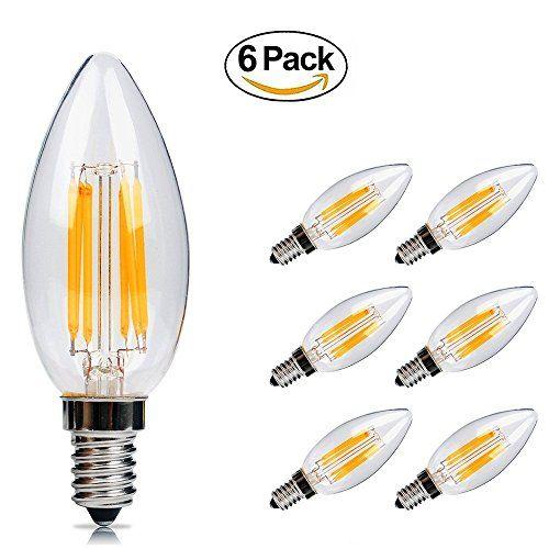 Ampoule LED E14 6w Flamme Bougie LED Candle Light Blanc Chaud 2700k,480lm,Equivalent à Ampoule Halogène 60W,360° Faisceau,220-240V #Ampoule #Flamme #Bougie #Candle #Light #Blanc #Chaud #k,lm,Equivalent #Halogène #W,° #Faisceau,
