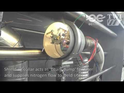 LaserPipe snake robot makes an inside job of pipe welding