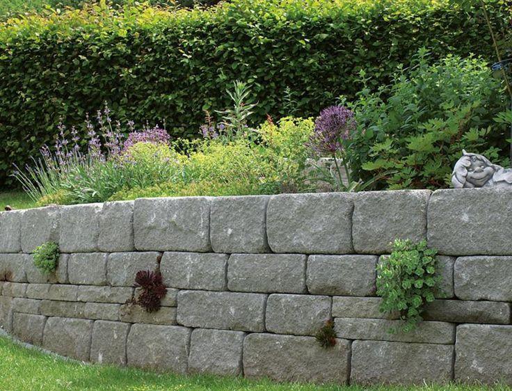 12 besten Gartenmauern Bilder auf Pinterest Gartenmauern - steine fur gartenmauer