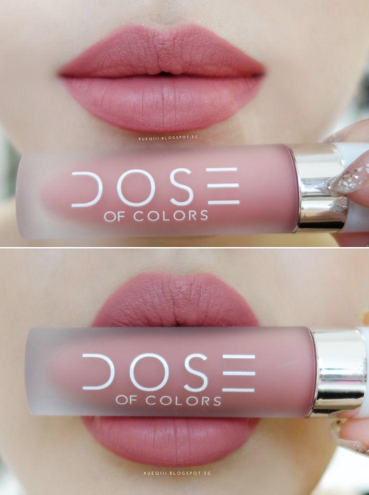 Dose Of Colors Liquid Matte Lipstick In (Bare With Me