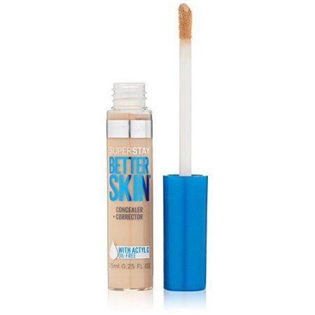 Maybelline SuperStay Better Skin Concealer + Corrector, Light