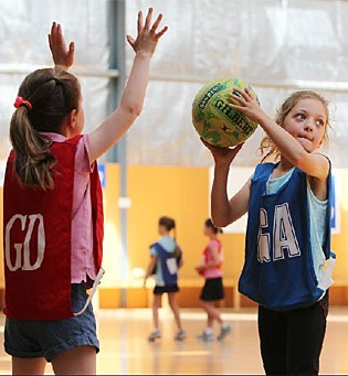 Littlies get started on netball and love it!! We love these adorable little girls as much as they love their netball...