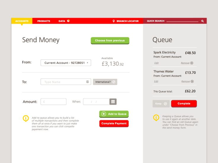 Best Payment  Account Images On   User Interface