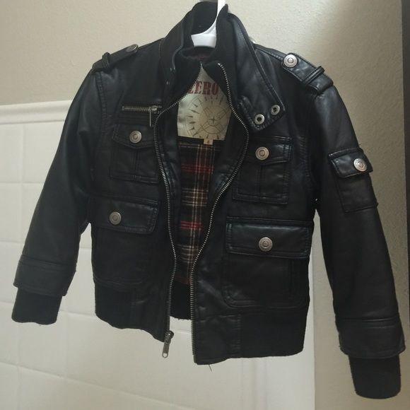 Toddler bomber jacket size 4 Black toddler jacket size 4 Jackets & Coats