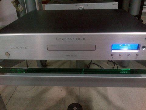 Audio Analogue Crescendo CD Player, DEMO UNIT, Silver