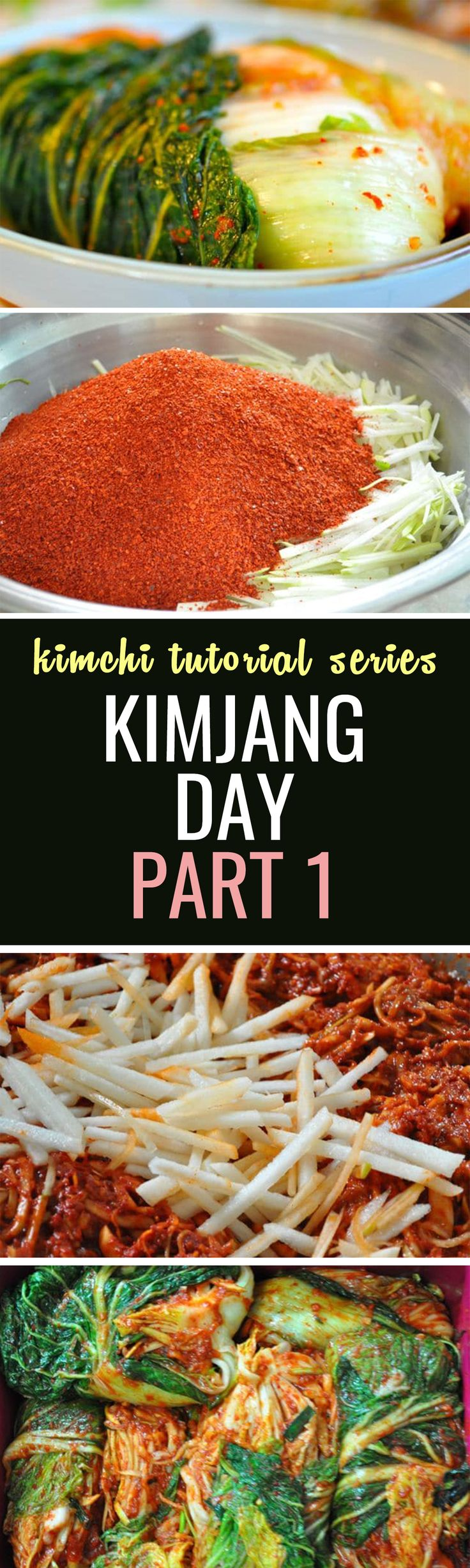 Here is an introduction to kimjang day, the day when you prepare kimchi for the family :)