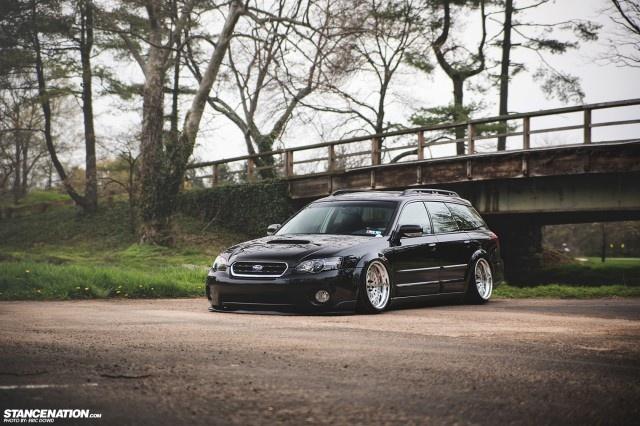 Slammed & Stanced Subaru Legacy Outback Wagon (6)