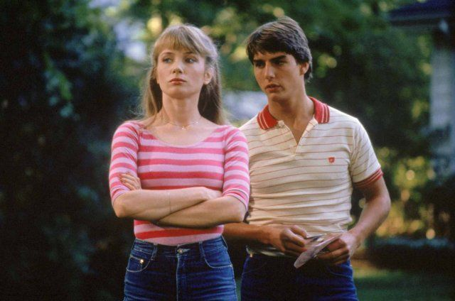 Still of Tom Cruise and Rebecca De Mornay in Risky Business 1983
