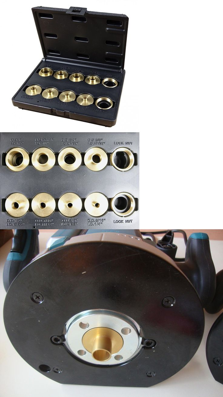 Routers and Joiners 122829 Router Template Guide Bushing