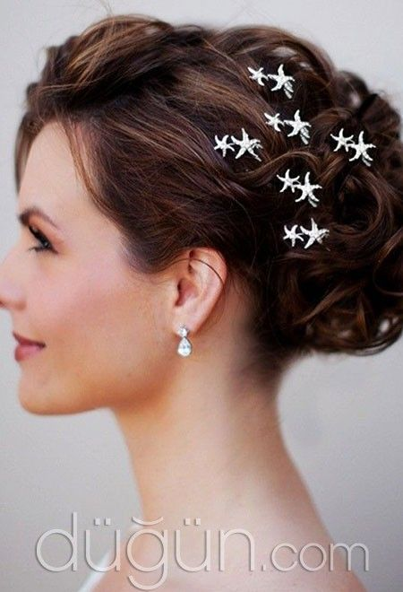 Yıldız Şekilli Saç Tokası @duguncom