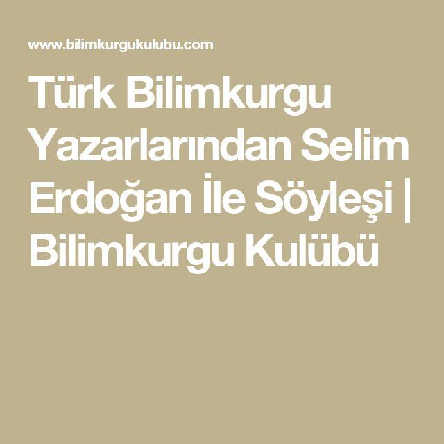 Türk Bilimkurgu Yazarlarından Selim Erdoğan İle Söyleşi | Bilimkurgu Kulübü