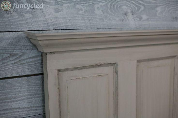 Traditional Dresser Set Makeover With Door Headboard