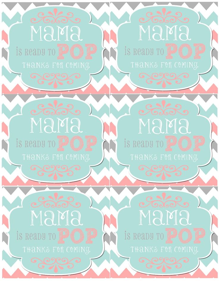 25 best baby shower images on Pinterest Baby girl shower, Petit - free baby shower label templates
