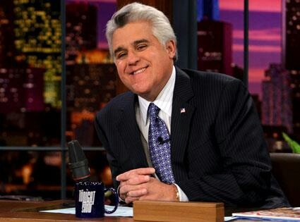 Jay Leno - my favorite of today's talk show hosts!