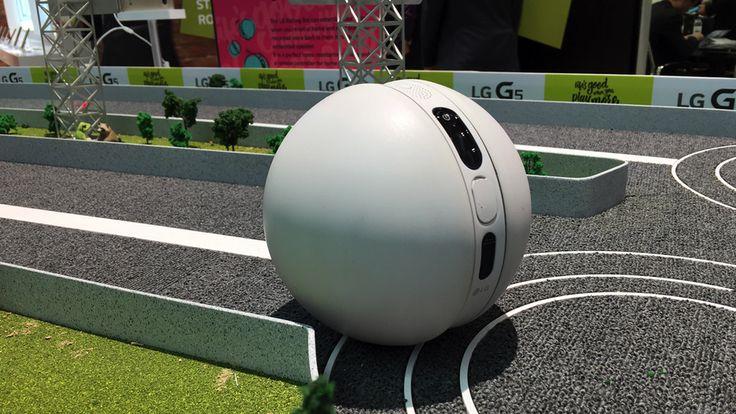 LG's Rolling Bot is like a drunken, headless BB-8