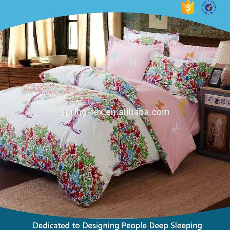 Printed Bed Sheets Designs Hot Sale Microfiber Printed